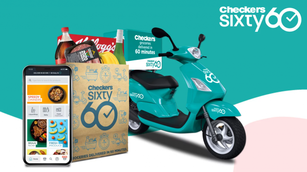 Checkers Sixty60 is the most downloaded grocery app in SA